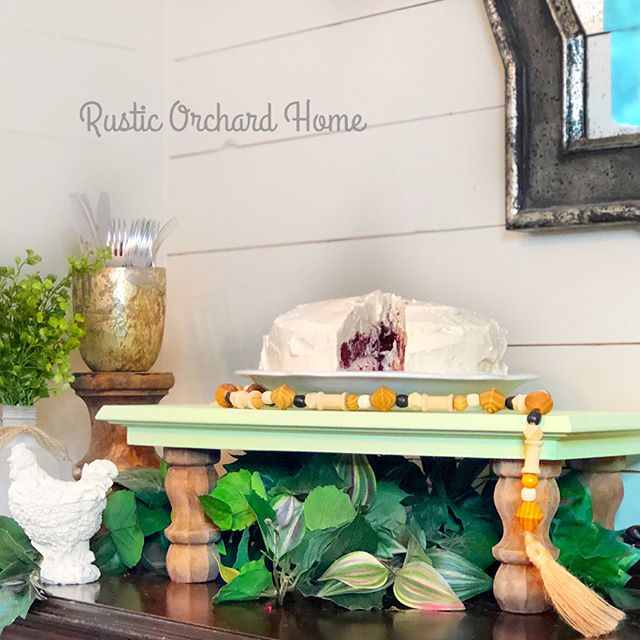 Repurposed Cabinet Door Farmhouse Tray
