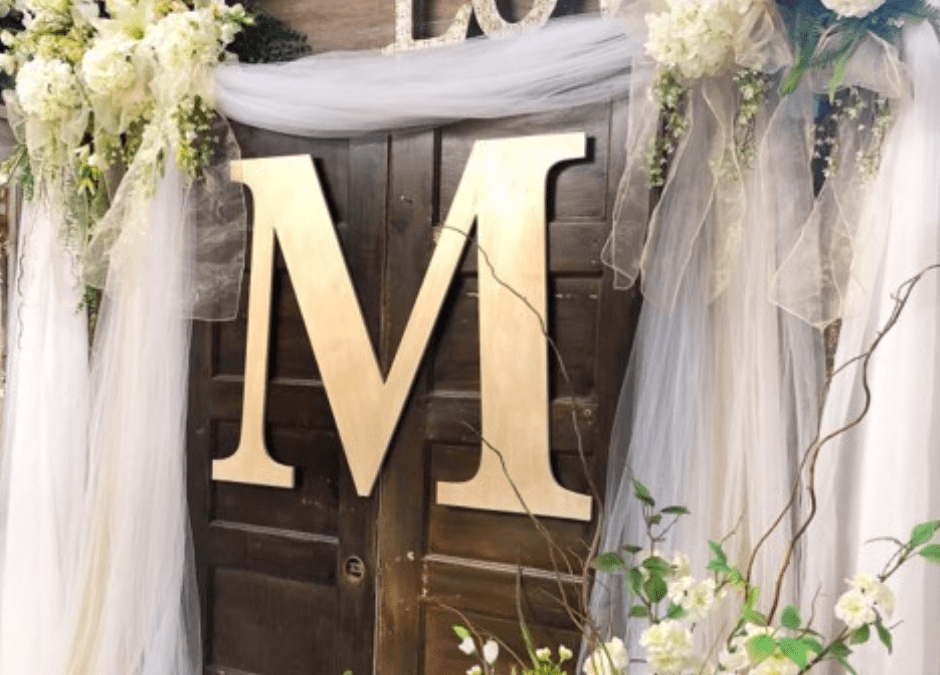 How To Create Wooden Letter Wedding Decor