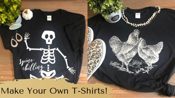 Use Chalk Couture Ink To Design Your Own T-Shirts!!