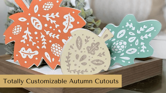 This set of Autumn Cutouts from Chalk Couture are the easiest way to create DIY décor for your home this Fall!