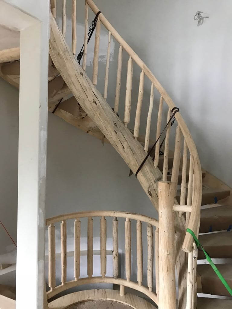Log Stairs Log Railings Custom Built By Rustic Stairs   Rustic Handrails For Stairs   Basement   Wooden   Banister   Metal   Deck