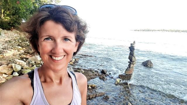 Wendela van Beek bij de zee - Rust in mijn hoofd coaching