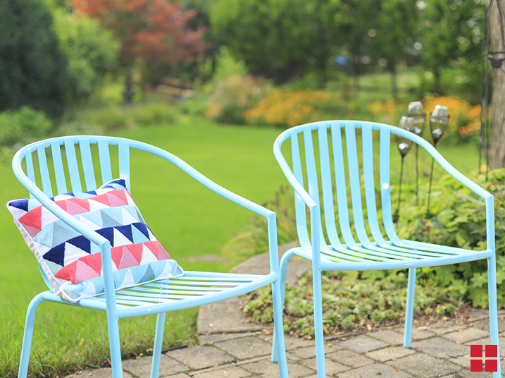 Diy Turquoise Patio Chairs