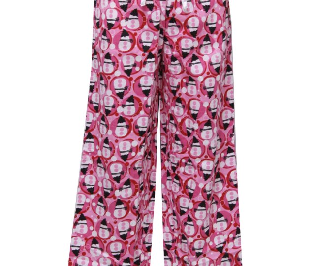 Womens Accessories Ugly Christmas Snowman Lounge Pants To Wear With Your Ugly Christmas Sweater S Made Recently Nina Capri Womens Pink Background