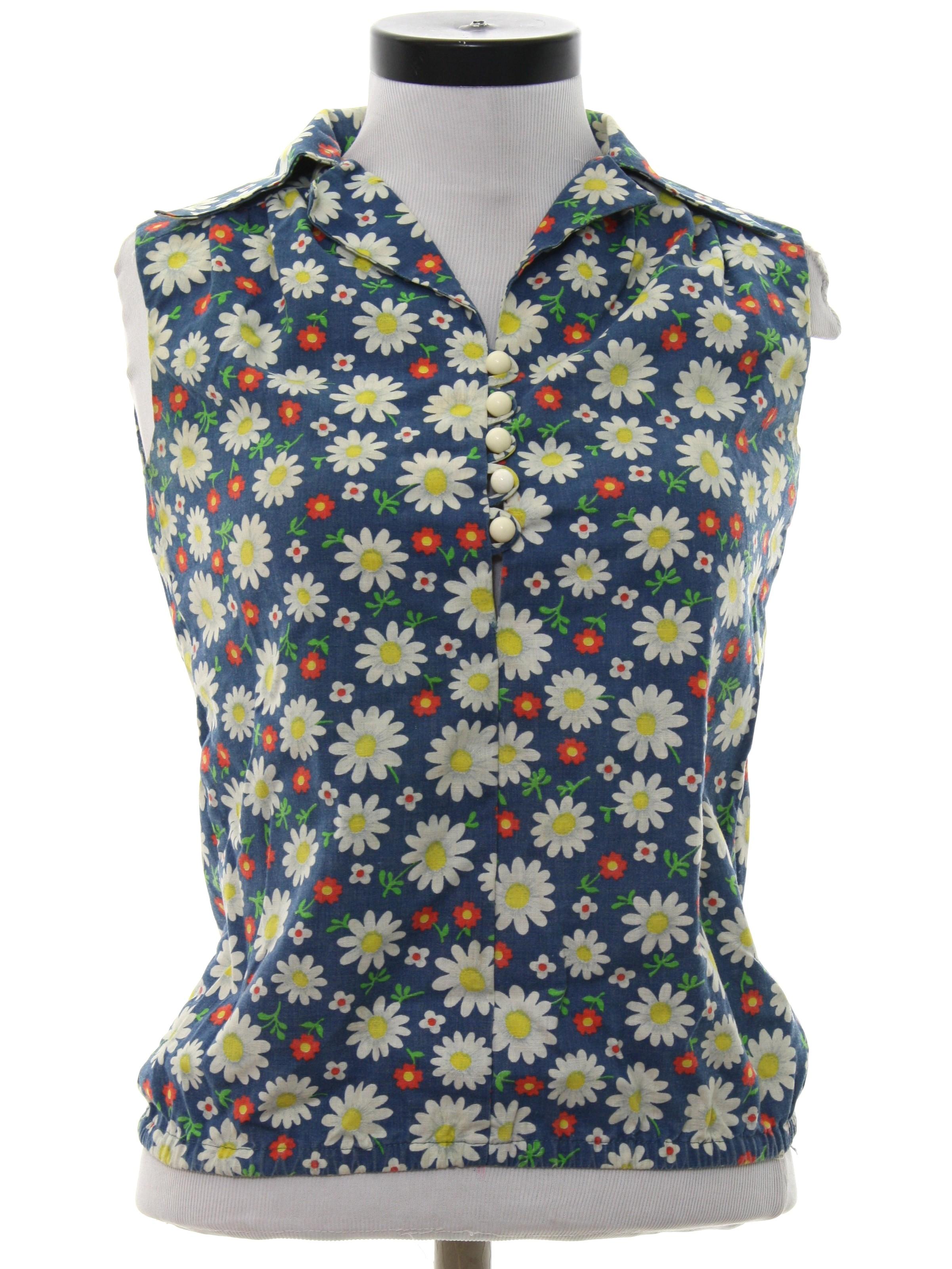 Mens Flower Power Shirt