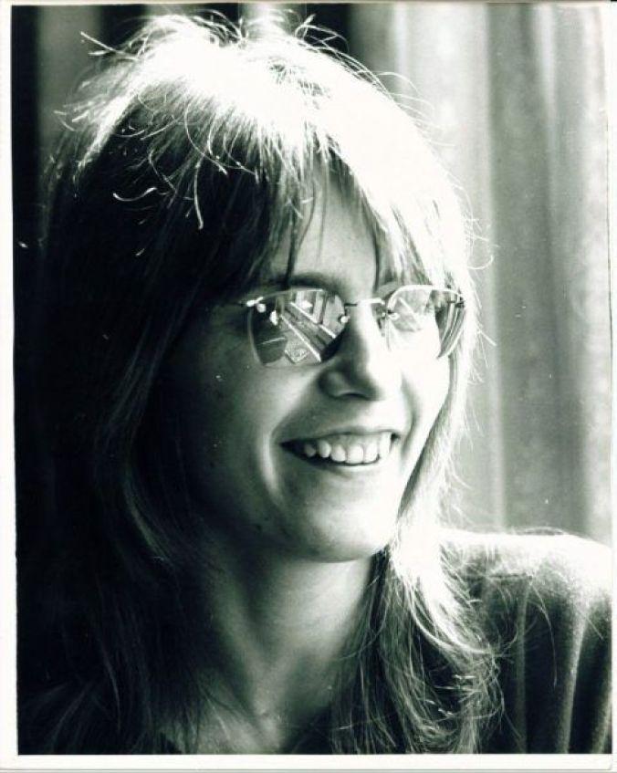 Judy 1972 being interviewed!