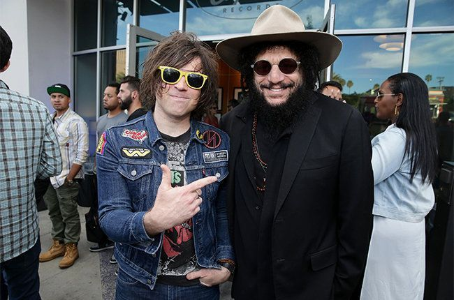 Ryan Adams and Don Was at the 3rd Annual Capitol Congress Celebration - Gala post-event celebration at the iconic Capitol Records Tower on Wednesday, August 5, 2015, in Hollywood, CA. (Photo by Eric Charbonneau/Invision for UMG/AP Images)