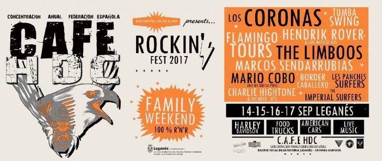 Todo a punto para el Rockin' Fest 2017.