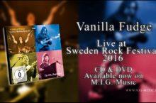 Vanilla Fudge – Live at Sweden Rock 2016 (MIG Music)