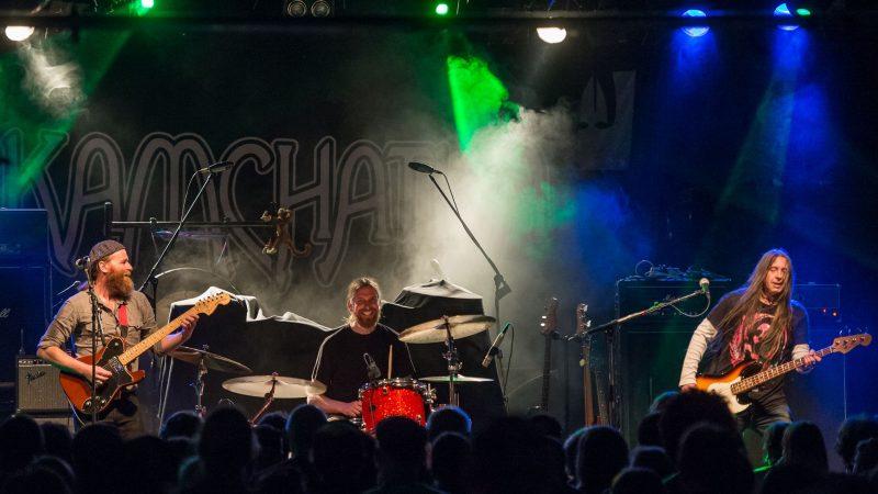 Vuelven Kamchatka, blues rock de alto octanaje, febrero 2019