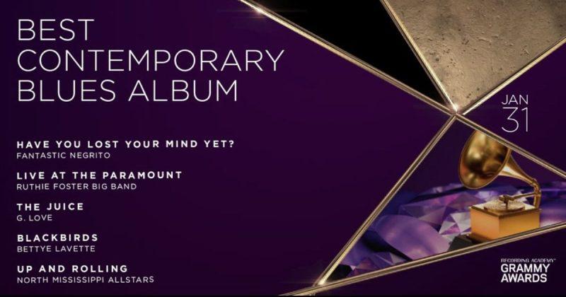Blues en la encrucijada: Premios Grammy: Best Contemporary Blues Album, ni tan mal, la verdad
