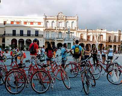 stop at old square old havana
