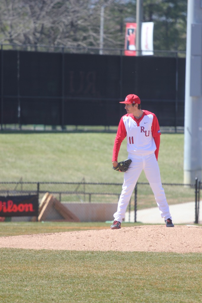 Boyle takes the mound for the Highlanders. Photo by A.J. Neuharth-Keusch.