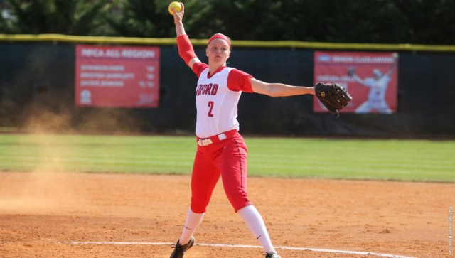 Abby Morrow shined on the mound