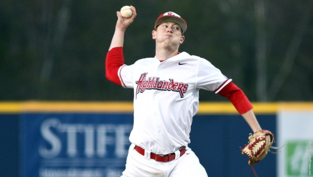 Travis McQueen pitched a gem in relief Sunday afternoon. Courtesy of Radford Athletics