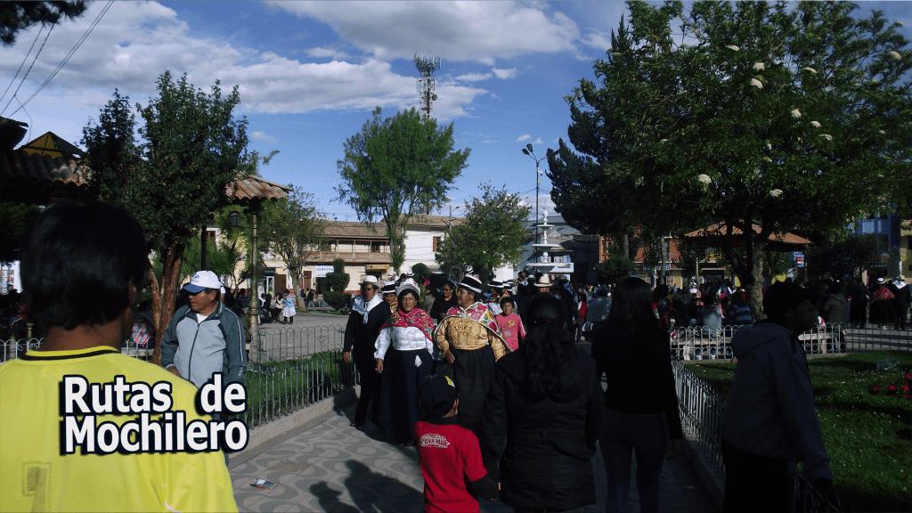 Plaza Central de JAUJA
