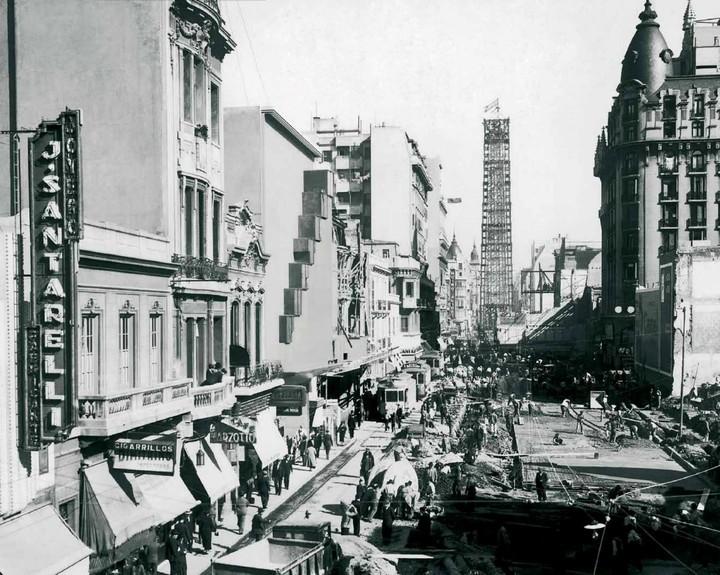 Buenos Aires, Avenida Corrientes Años atras