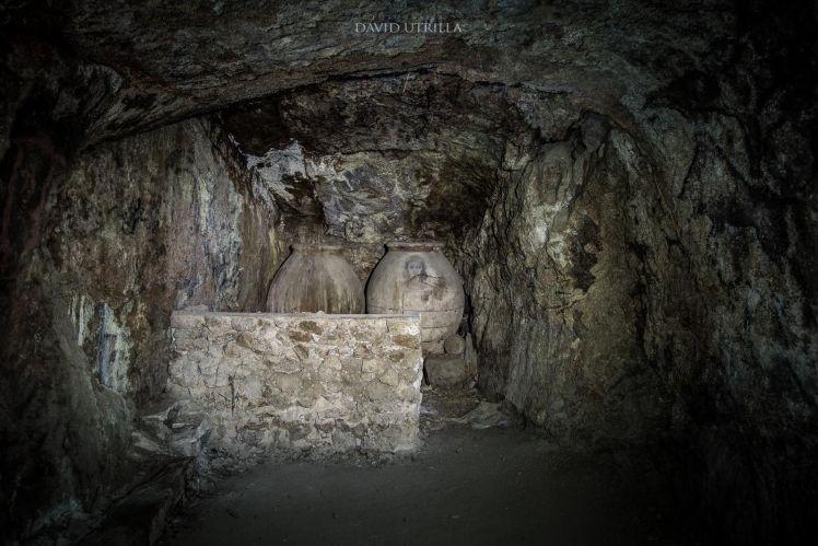 """Cueva privada que visitamos en la ruta """"Toledo Mágico"""""""