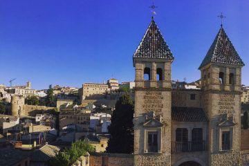 Puerta de Bisagra, desde arriba