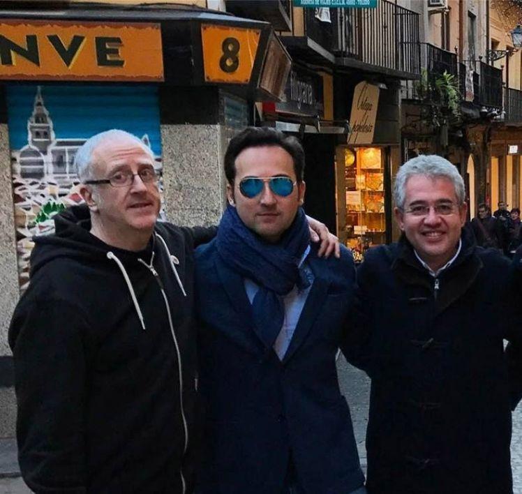 Iker Jiménez, Luis R. Bausá y Antonio Gudiel
