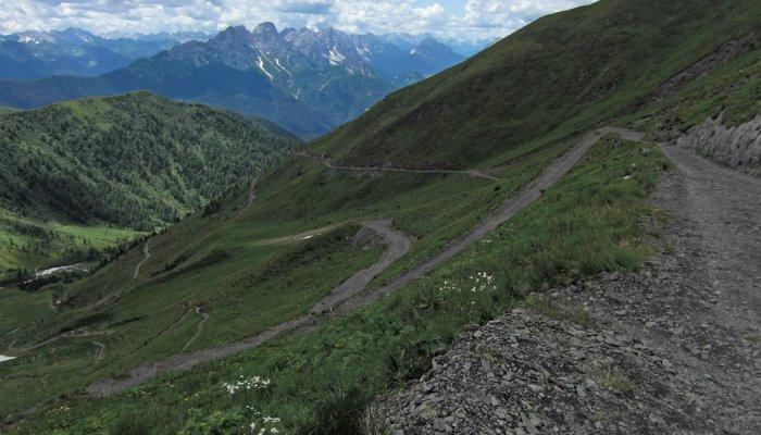 Alpes en BTT Salzburgo-Venecia en BTT Rutas Pangea