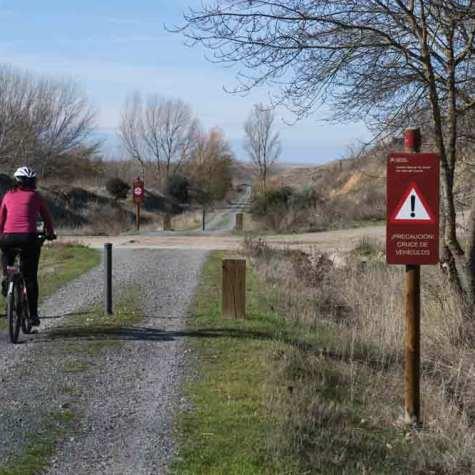 Vias Verdes Europeas 2016 en Via Verde del Eresma Segovia