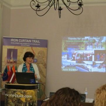 Mercedes Muñoz Directora de la Asociación Europea de Vías Verdes