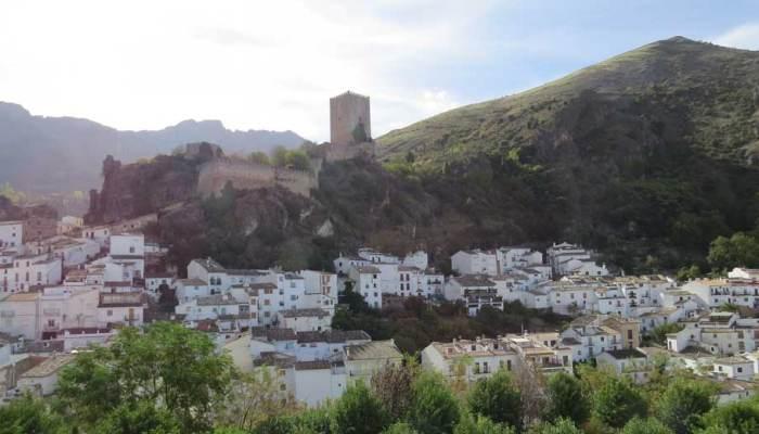 vista de Cazorla pueblo