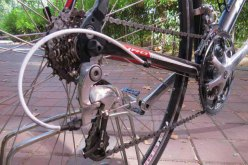 Venta-bici-segunda-mano--carretera-aluminio-Ideal-on-road-(3)
