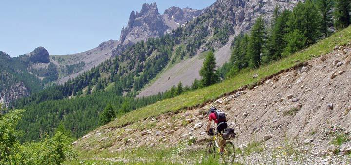 viaje organizado en MTB por los Alpes de Grenoble a San Remo
