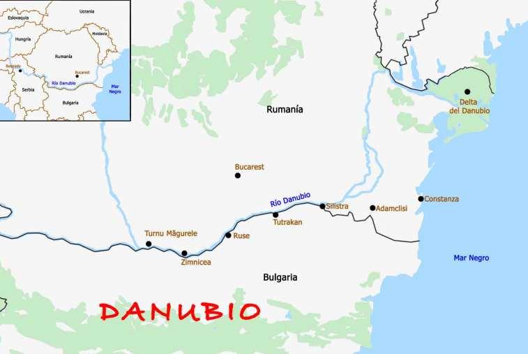 Danubio en bici por Rumania