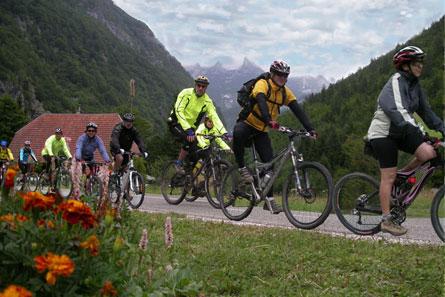 Viajes organizados en bici