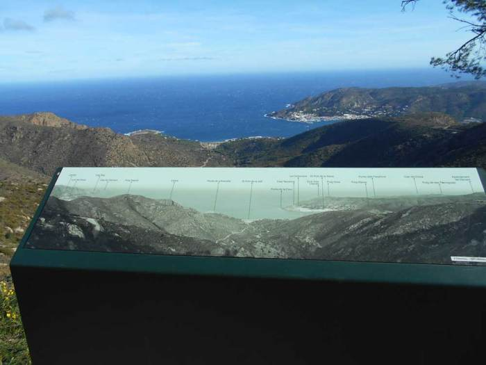 Vistas de la Costa Brava en bici