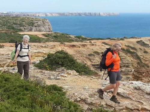 A pie por el Algarve con Rutas Pangea