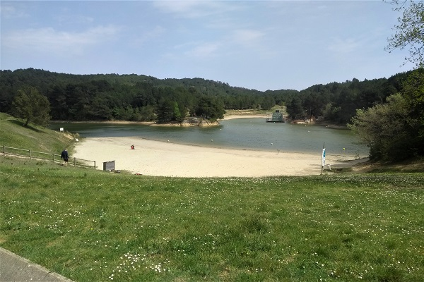 Lac de la Cavayère - Playa de Carcasona