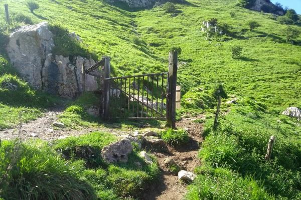 Cruzar portón