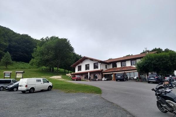 Parking de la venta de Izpegi