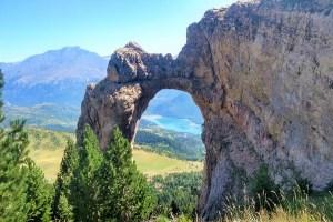 Ruta de senderismo Arco de Piedrafita