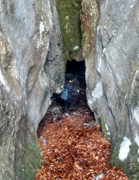 Entrada Cueva de Sarastarri