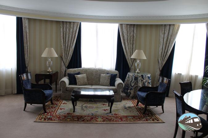 Suite del hotel Palace