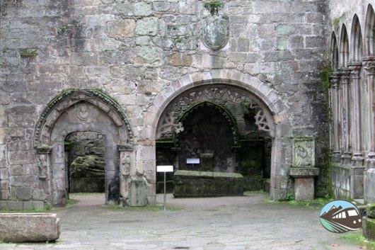 Ruinas de Santo Domingo en Vigo
