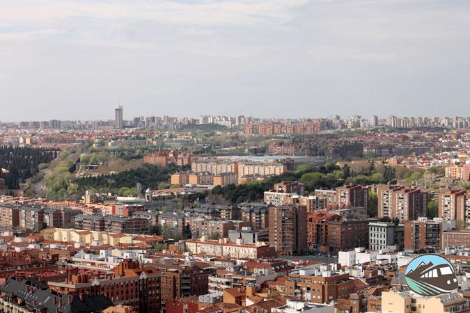 Panorámica desde la cupula de la Almudena - Madrid