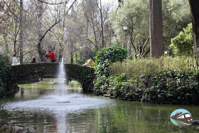 Parque de María Luisa en Sevilla