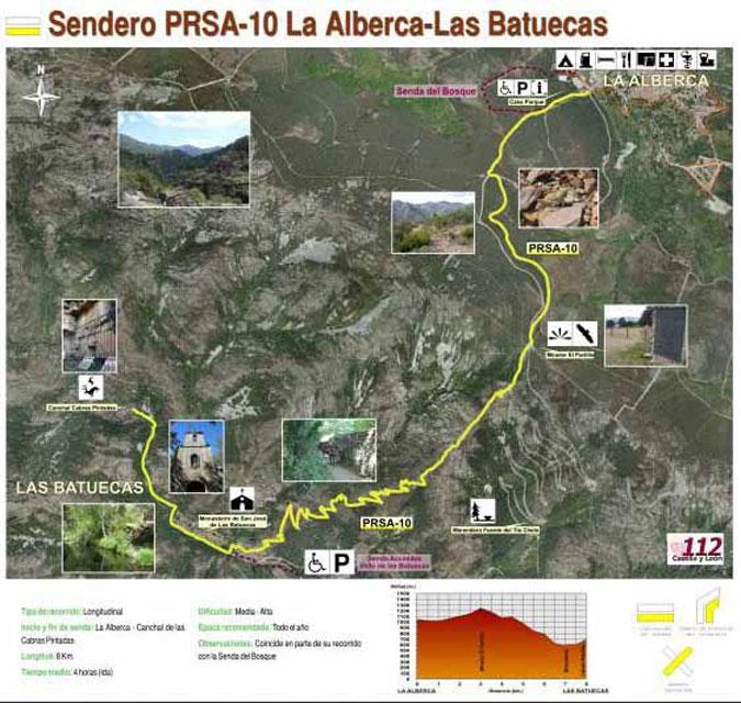 Sendero PRSA-10 La Alberca-Las Batuecas