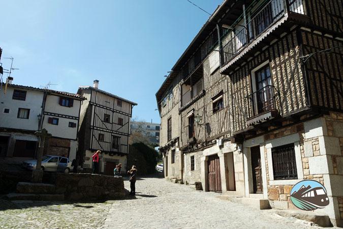 Fachadas de La Alberca