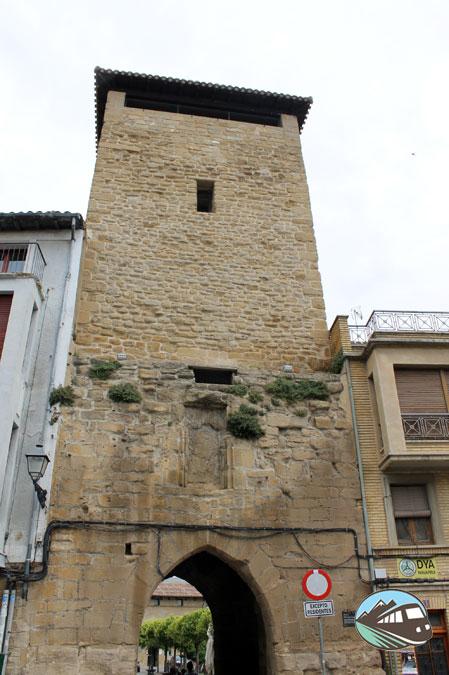 Torre de la muralla de Olite