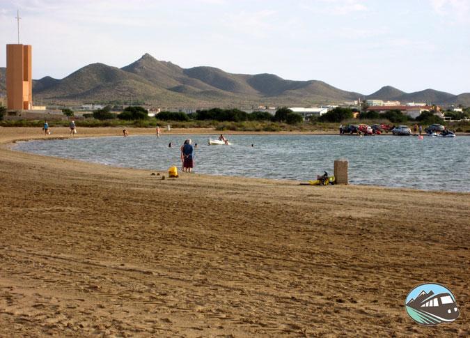 playa de Nuevo Puerto Bello – La Manga