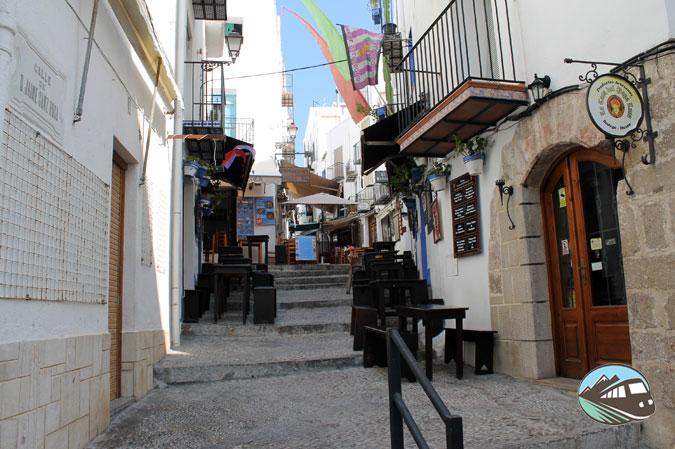 Calles de Peñíscola