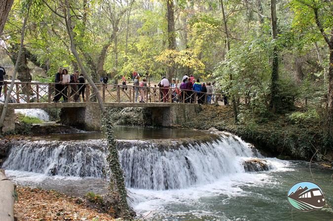 Saltos de agua - Parque del Monasterio de Piedra