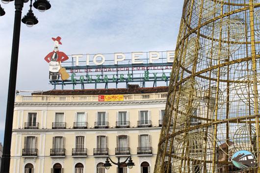 Puerta Sol Navidad 2014